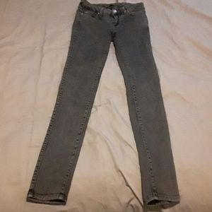 Good condition- faded black high rise skinny